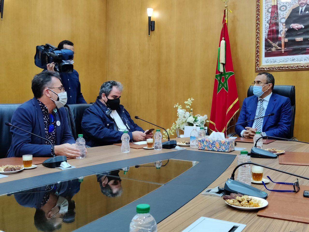 Reunión presidente Dakhla