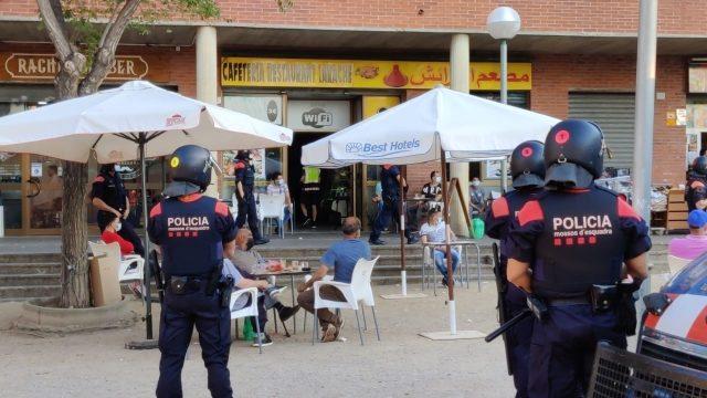 Dispositiu policial barris de ponent- Mossos5
